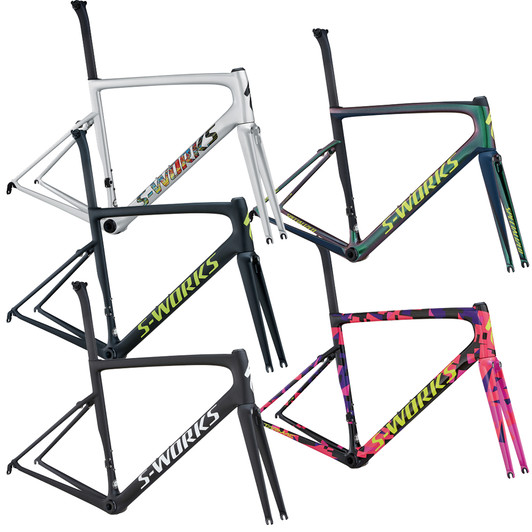 Speialized S-works tarmac sl6 carbon fiber road bike frame